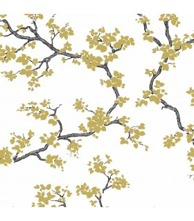 FB1404 - Florence Broadhurst Wallpaper by York - Branches