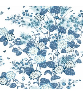 FB1408 - Florence Broadhurst Wallpaper by York - Chinese Floral