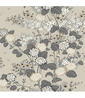 FB1409 - Florence Broadhurst Wallpaper by York - Chinese Floral