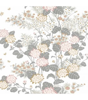 FB1410 - Florence Broadhurst Wallpaper by York - Chinese Floral