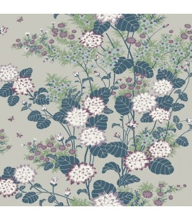 FB1411 - Florence Broadhurst Wallpaper by York - Chinese Floral