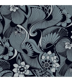 FB1420 - Florence Broadhurst Wallpaper by York - Aubrey