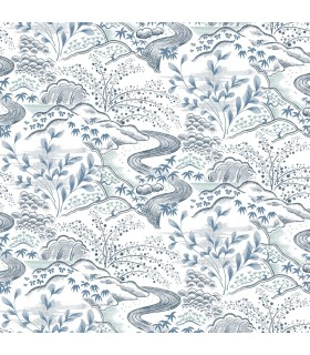 FB1435 - Florence Broadhurst Wallpaper by York - Oriental Filigree
