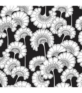 FB1462 - Florence Broadhurst Wallpaper by York - Japanese Floral