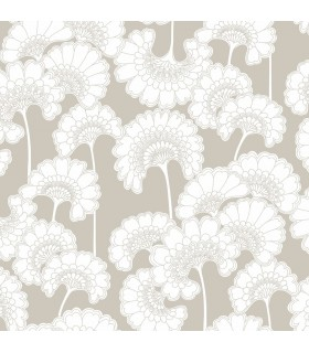 FB1463 - Florence Broadhurst Wallpaper by York - Japanese Floral