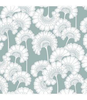 FB1464 - Florence Broadhurst Wallpaper by York - Japanese Floral