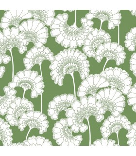FB1466 - Florence Broadhurst Wallpaper by York - Japanese Floral