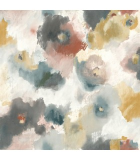 UC3822 - Modern Art Wallpaper by York - Impressionist Floral