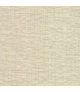 2807-87957 - Warner Grasscloth Resource Wallpaper-Pembrooke Stripe