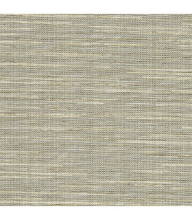 2807-8018 - Warner Grasscloth Resource Wallpaper-Bay Ridge Linen Texture
