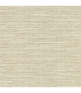 2807-8019 - Warner Grasscloth Resource Wallpaper-Bay Ridge Linen Texture