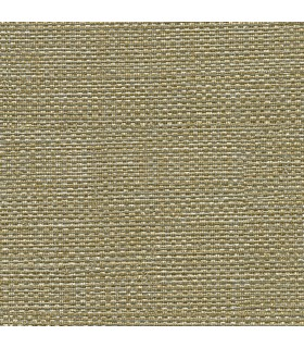 2807-8028 - Warner Grasscloth Resource Wallpaper-Bohemian Bling Weave