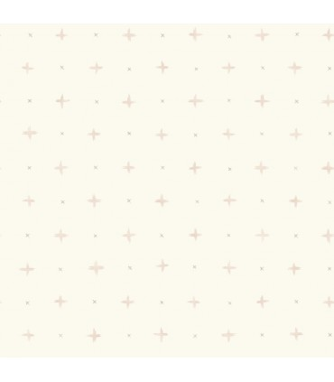 MK1101 - Magnolia Home Artful Prints and Patterns Wallpaper-Cross Stitch