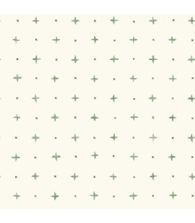 MK1102 - Magnolia Home Artful Prints and Patterns Wallpaper-Cross Stitch