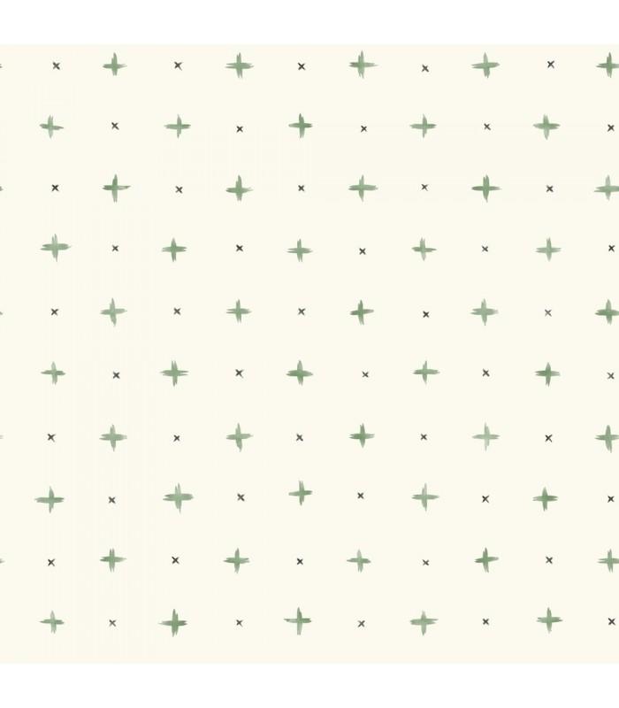 MK1102 - Magnolia Home Artful Prints and Patterns Wallpaper-Cross Stitch