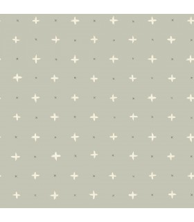 MK1103 - Magnolia Home Artful Prints and Patterns Wallpaper-Cross Stitch