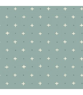 MK1104 - Magnolia Home Artful Prints and Patterns Wallpaper-Cross Stitch