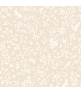 MK1110 - Magnolia Home Artful Prints and Patterns Wallpaper-Fox and Hare