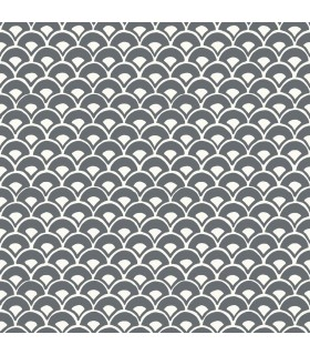 MK1150 - Magnolia Home Artful Prints and Patterns Wallpaper-Stacked Scallops