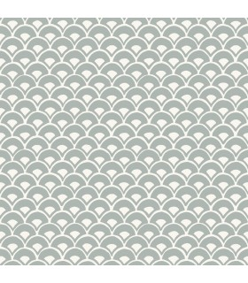 MK1151 - Magnolia Home Artful Prints and Patterns Wallpaper-Stacked Scallops