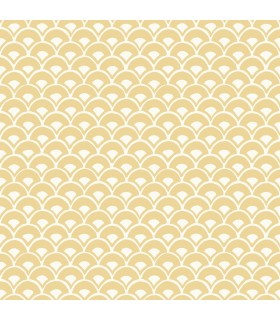 MK1152 - Magnolia Home Artful Prints and Patterns Wallpaper-Stacked Scallops
