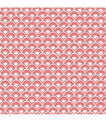 MK1155 - Magnolia Home Artful Prints and Patterns Wallpaper-Stacked Scallops