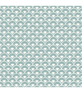 MK1157 - Magnolia Home Artful Prints and Patterns Wallpaper-Stacked Scallops