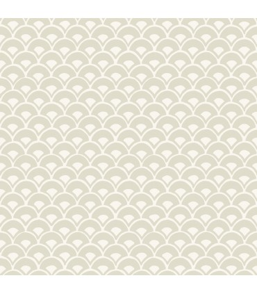 MK1158 - Magnolia Home Artful Prints and Patterns Wallpaper-Stacked Scallops