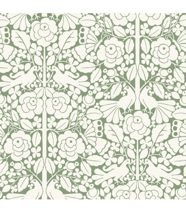MK1164 - Magnolia Home Artful Prints and Patterns Wallpaper-Fairy Tales