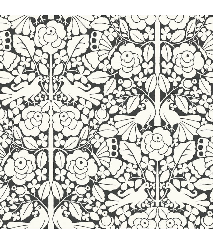 MK1167 - Magnolia Home Artful Prints and Patterns Wallpaper-Fairy Tales