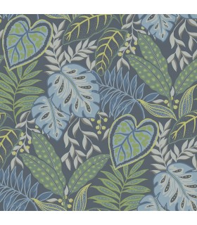 2785-87424 - Signature Wallpaper by Sarah Richardson-Jasmine Botanical
