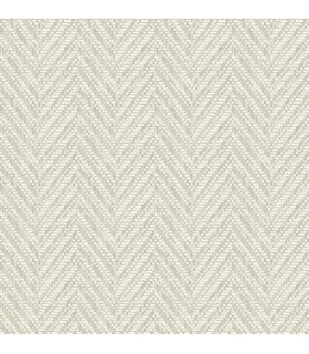 2785-24817 - Signature Wallpaper by Sarah Richardson-Ziggity Woven Herringbone
