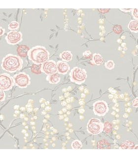 2785-24831 - Signature Wallpaper by Sarah Richardson-Peony Tree