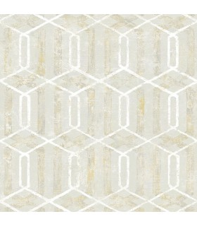 2809-SH01068 - Geo Wallpaper by Advantage-Stormi Geometric