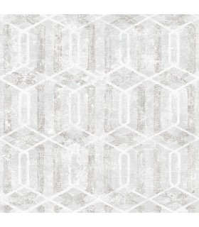 2809-SH01061 - Geo Wallpaper by Advantage-Stormi Geometric