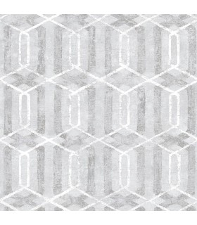 2809-SH01062 - Geo Wallpaper by Advantage-Stormi Geometric