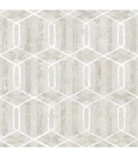 2809-SH01063 - Geo Wallpaper by Advantage-Stormi Geometric