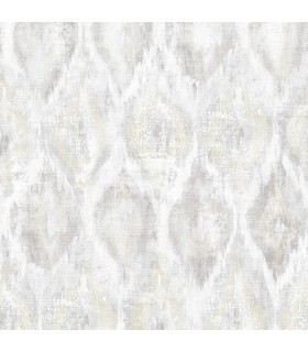 2809-SH01101 - Geo Wallpaper by Advantage-Gilboa Ikat