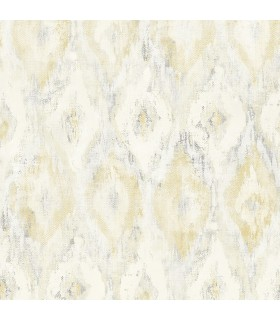 2809-SH01103 - Geo Wallpaper by Advantage-Gilboa Ikat