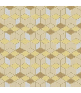 2809-IH18101 - Geo Wallpaper by Advantage-Joanne Blox