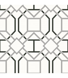 2809-87705 - Geo Wallpaper by Advantage-Dauphin Lattice