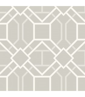 2809-87707 - Geo Wallpaper by Advantage-Dauphin Lattice