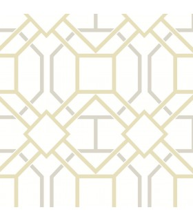 2809-87706 - Geo Wallpaper by Advantage-Dauphin Lattice