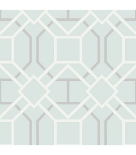 2809-87704 - Geo Wallpaper by Advantage-Dauphin Lattice