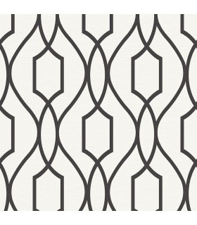 2809-87711 - Geo Wallpaper by Advantage-Evelyn Trellis