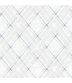 2809-IH20042 - Geo Wallpaper by Advantage-Hadley Argyle Plaid