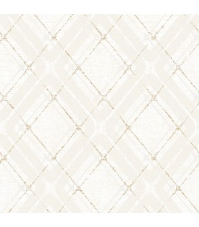 2809-IH20041 - Geo Wallpaper by Advantage-Hadley Argyle Plaid