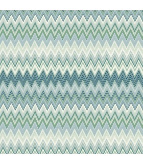 MI10063 - Missoni Home Wallpaper - Zig Zag Multicolor