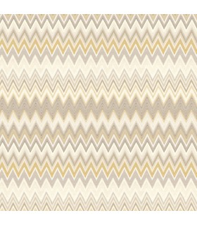 MI10061 - Missoni Home Wallpaper - Zig Zag Multicolor