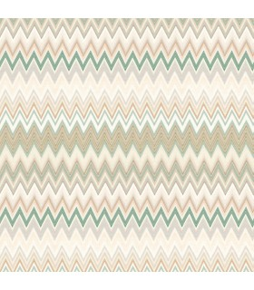 MI10065 - Missoni Home Wallpaper - Zig Zag Multicolor